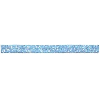 青いグリッターの輝きの質 ヘアタイ