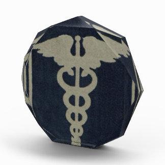 青いケリュケイオン 表彰盾