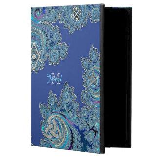 青いケルト族のフラクタルのiPadの空気2箱 Powis iPad Air 2 ケース