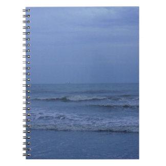 青いココア ノートブック