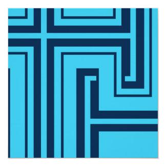 青いコーナー カード