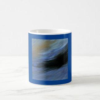 """""""青いコーヒー・マグ3つ11のoz。 クラシックなコーヒー・マグ コーヒーマグカップ"""