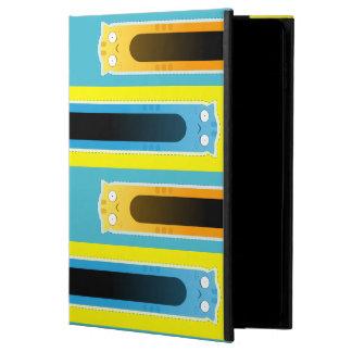 青いショウガ猫の縞模様のiPadの箱 Powis iPad Air 2 ケース