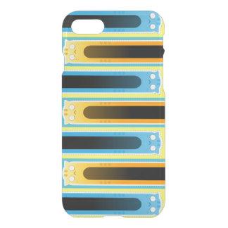 青いショウガ猫のiPhone 7のClearly™のディフレクターの箱 iPhone 8/7 ケース