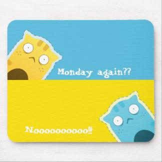 青いショウガCat#2のマウスパッド マウスパッド