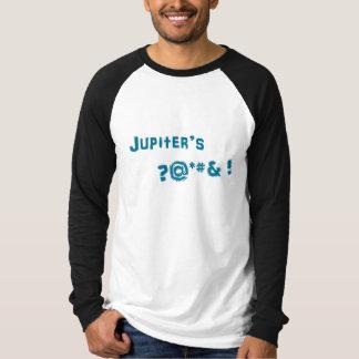 青いジュピタージャージー Tシャツ