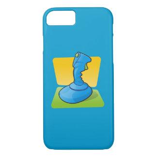 青いジョイスティック iPhone 8/7ケース