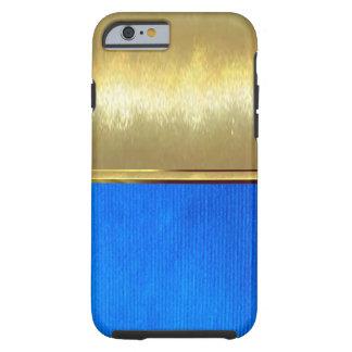 青いスエードの質のiPhone 6の細い場合 ケース