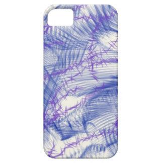 青いスケッチ iPhone SE/5/5s ケース