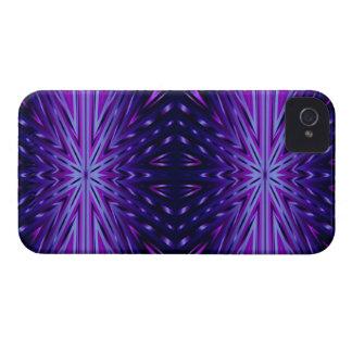 青いスターバストのiphone 4ケース Case-Mate iPhone 4 ケース