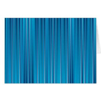 青いストリップ カード
