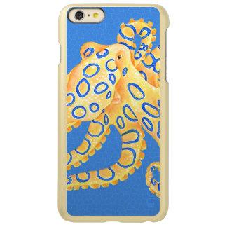 青いタコのステンドグラス INCIPIO FEATHER SHINE iPhone 6 PLUSケース