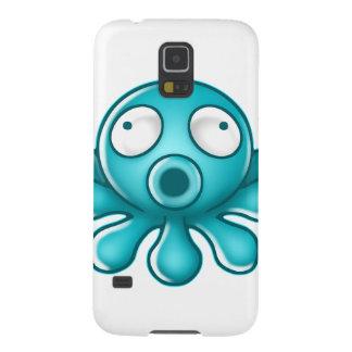 青いタコの日本人のロゴ GALAXY S5 ケース
