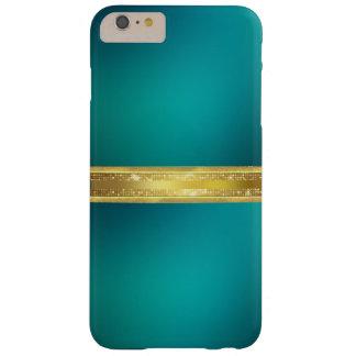 青いターコイズの質のiPhone6ケース Barely There iPhone 6 Plus ケース
