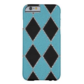 青いダイヤモンドの輝きの携帯電話の箱 BARELY THERE iPhone 6 ケース