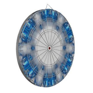 青いダイヤモンド ダーツボード