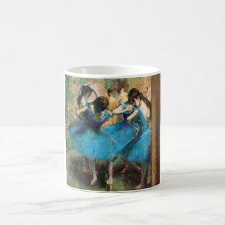 青いダンサーのマグのガスを抜いて下さい コーヒーマグカップ