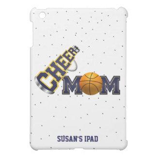 青いチアリーティングのバスケットボールのお母さんのiPad Miniケース iPad Mini Case