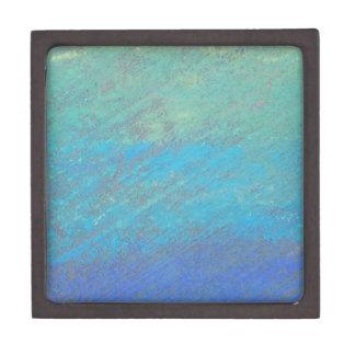 青いチョークの芸術 ギフトボックス