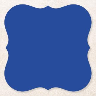 青いテンプレートDIYの変更色は文字のイメージを加えます ペーパーコースター
