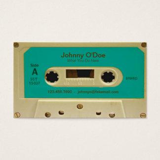 青いテープ 名刺
