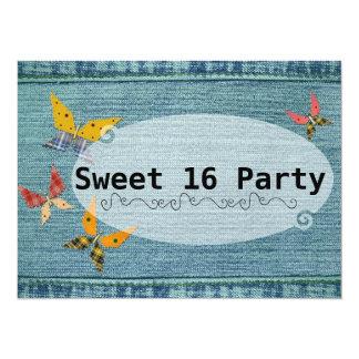 青いデニムの菓子16 カード