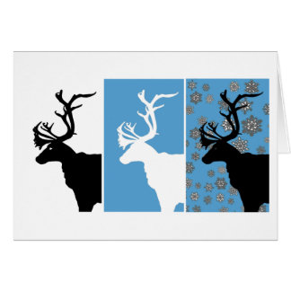青いトナカイの三部作 カード