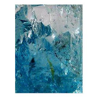 青いトパーズ ポストカード