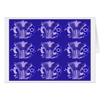 青いトラッフル カード