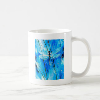 青いトンボ コーヒーマグカップ