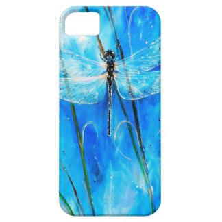 青いトンボ iPhone SE/5/5s ケース