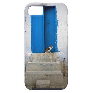 青いドア、Kairouan、チュニジア、アフリカ iPhone SE/5/5s ケース