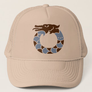 青いドラゴンの帽子 キャップ