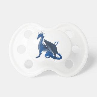 青いドラゴン おしゃぶり