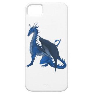 青いドラゴン iPhone SE/5/5s ケース