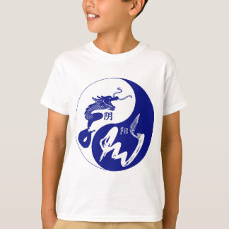 青いドラゴン Tシャツ