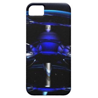 青いネオンiPhoneカバー iPhone SE/5/5s ケース