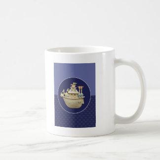 青いノアの箱舟 コーヒーマグカップ