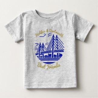 青いノバスコシアハリファックスダートマスの親友 ベビーTシャツ