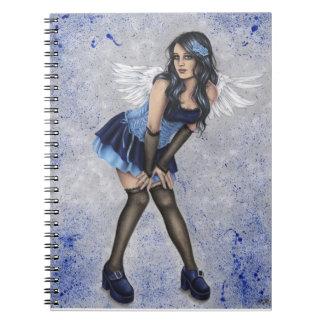 青いノートの天使 ノートブック