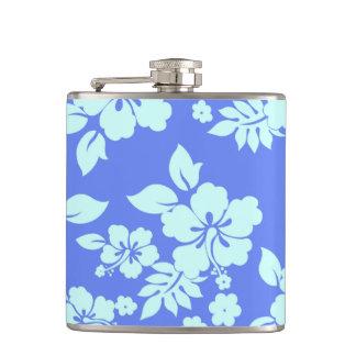 青いハワイアン フラスク