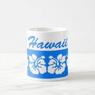 青いハワイ コーヒーマグカップ