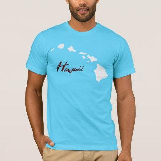 青いハワイ Tシャツ
