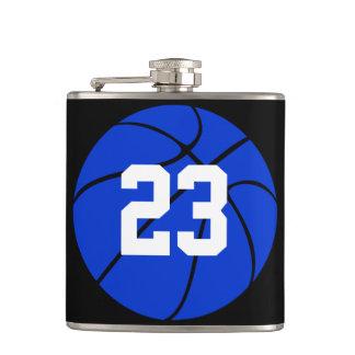 青いバスケットボールのカスタムのスキットル フラスク