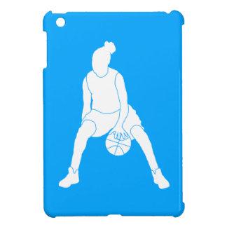 青いバスケットボールの女の子のiPad Miniケース iPad Miniカバー