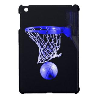 青いバスケットボール iPad MINI CASE