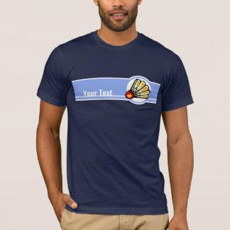 青いバドミントン Tシャツ