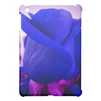 青いバラのつぼみのiPadの箱 iPad Mini カバー