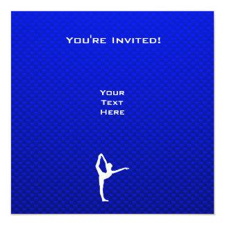青いバレエ カード