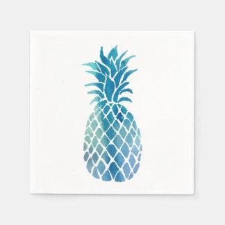 青いパイナップル スタンダードカクテルナプキン